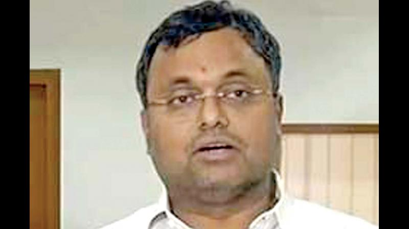 On January 30, the top court had allowed Karti, who is facing probe in cases of corruption, to travel abroad after depositing Rs 10 crore as security.
