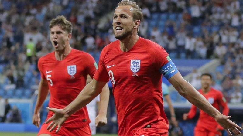 Harry Kane scored 46 goals in all competitions for Tottenham last season but had never before scored in a major tournament finals for England -- until now. (Photo: AP)