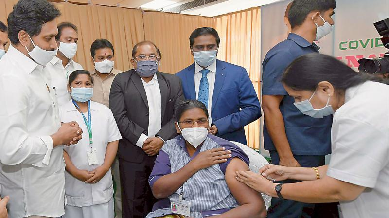 Dentist falls ill after COVID-19 vaccination in AP