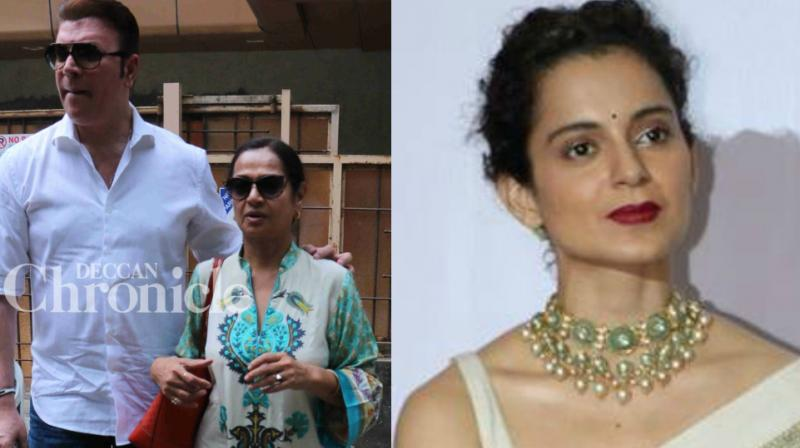 Aditya Pancholi and Zarina filed a case against Kangana Ranaut.