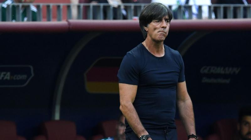 Loew, who arrived in Wolfsburg later than expected due to a dental operation this week, is hoping to bounce back from a painful 2018, in which Germany suffered an early World Cup exit and were relegated from the top tier of the UEFA Nations League. (Photo: AFP)
