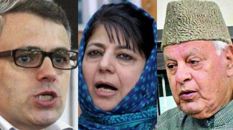 A note prepared by the Commisioner-cum-secretary to the government of J&K for submissions in Supreme Court put these government leaders at par with the separatist bodies in the state. (Photo: File)