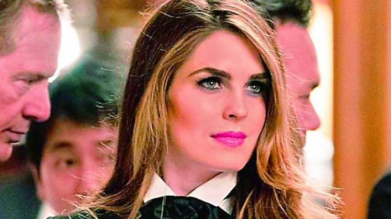 Hope Hicks, White House communications director. (Photo: AP)
