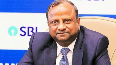 SBI's head Rajnish Kumar.