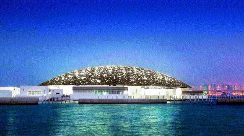 The Louvre museum Abu Dhabi opens to visitors on November 11. (Photo via Web)
