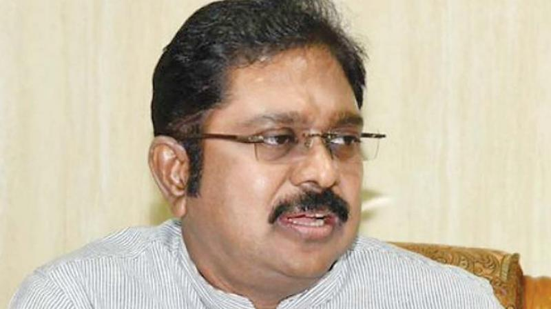 AIADMK leader TTV Dhinakaran said the Centre is day dreaming if it believes that it can cause his faction any harm by conducting raids. (Photo: File)
