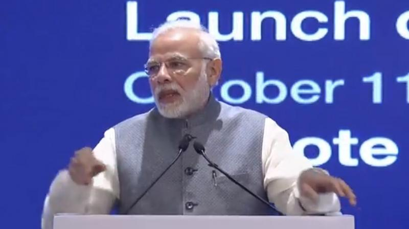 Prime Minister Narendra Modi on Thursday allayed fears of job loss due to technological development, saying the '4th Industrial Revolution' will change the nature of jobs and provide more opportunities. (Photo: Youtube)