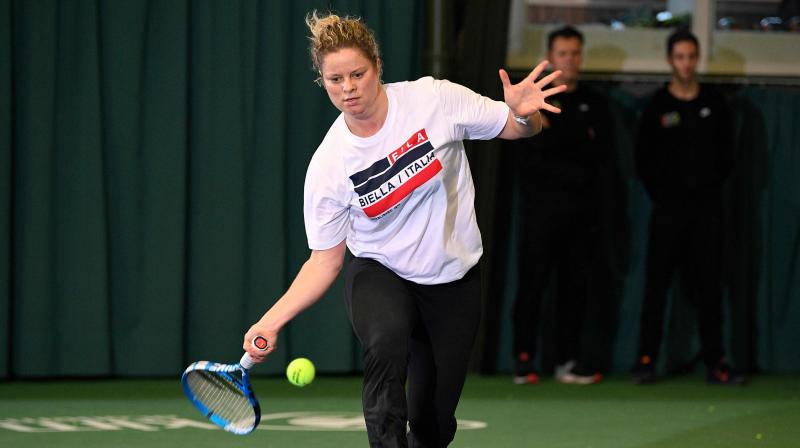 Australian Open Smoke Risks Worry Kim Cljsters