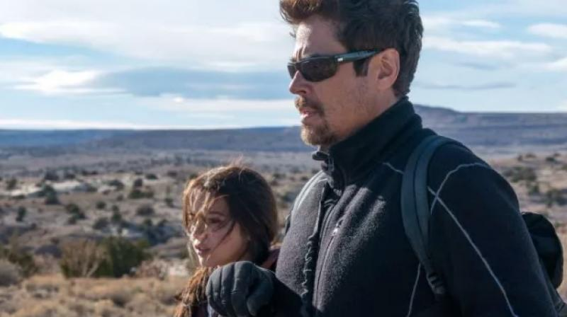 Benicio del Toro and Isabela Moner in the still from Sicario: Day of the Soldado.