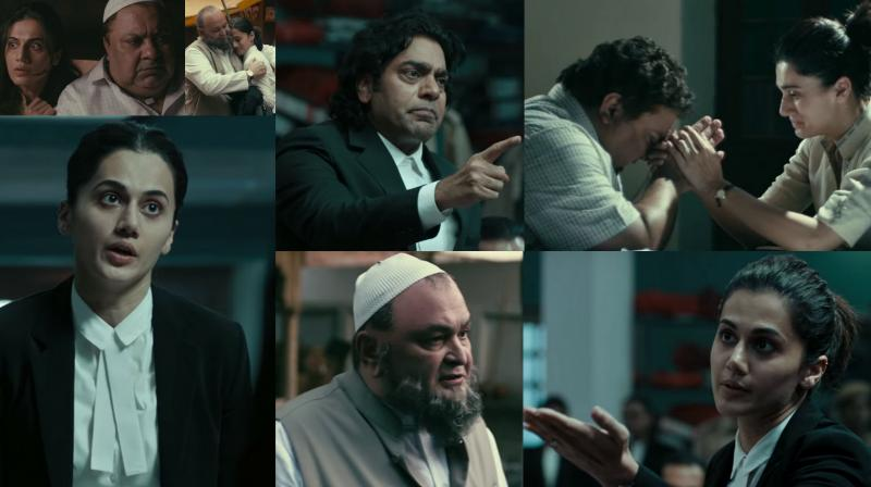 Screengrabs from 'Mulk' trailer. (Courtesy: YouTube/Zee Music Company)