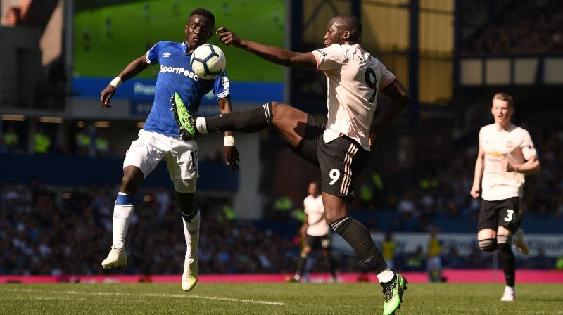 United had a devastating game at Goodison Park and the Reds only had one shot on target. (Photo: AFP)