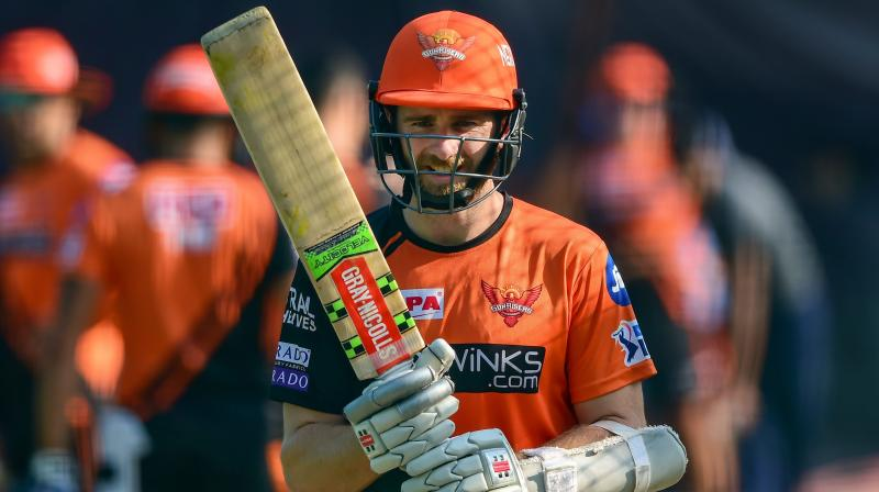 SRH are currently sitting fourth on the points table by winning five out of nine mathches. (Photo: PTI)