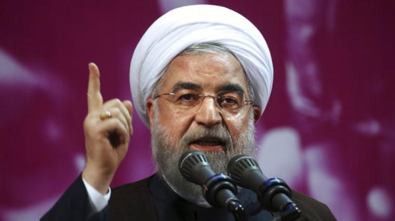 Iranian President Hassan Rouhani  warned last week that it could ramp up its nuclear program (Photo: AP)