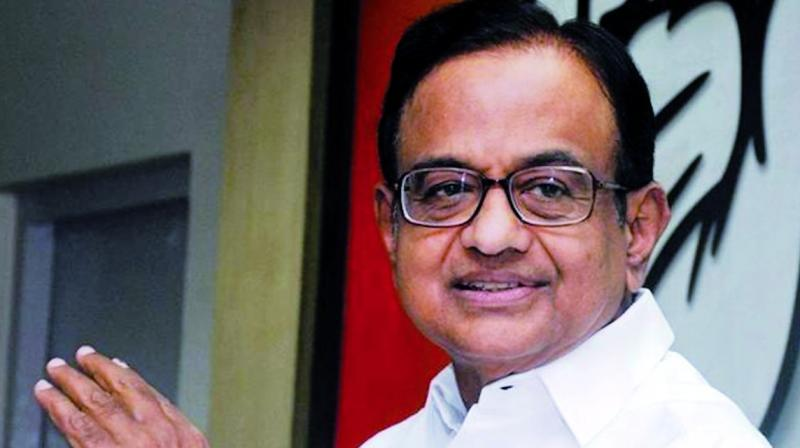 In a similar instance, on September 3, Chidambaram took a jibe at the government over the growth rate of 5 per cent in April to June quarter him when he was asked about his custody in CBI. (Photo: ANI)