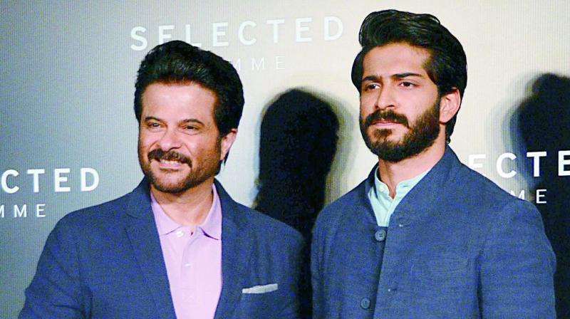 Anil Kapoor and Harshvardhan Kapoor