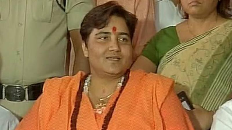 Sadhvi Pragya called the cure scientific, saying she is a living example of its effectiveness. (Photo:File)