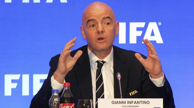 Gianni Infantino. (Photo: AP)