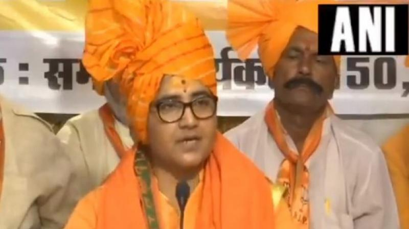 Sadhi Pragya Thakur (Photo: ANI)