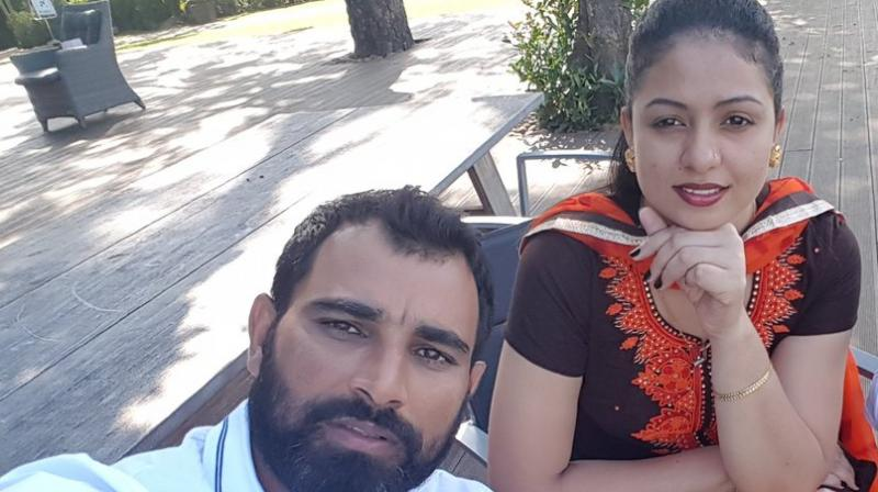 Hasin Jahan filed a written complaint against Mohammed Shami and the FIR was lodged against Shami and his four family members in Kolkata's Jadavpur police station under several Indian Penal Code (IPC) sections, including section 498A, which amounts to cruelty to a woman by her husband or his relatives. (Photo: Twitter)