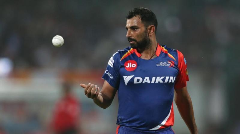 Delhi Daredevils are now awaiting for BCCI's legal opinion about whether they should allow Mohammed Shami to join their camp, which will start at the end of the month. (Photo: BCCI)