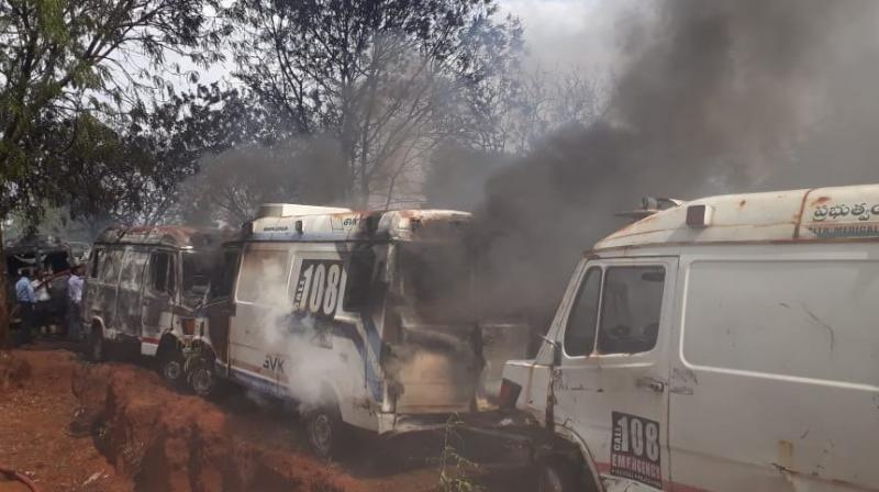 No casualties were reported in the incident.  (Photo: ANI twitter)
