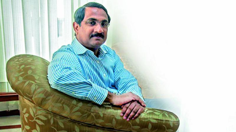 K. Pradeep Chandra, former bureaucrat-turned-author