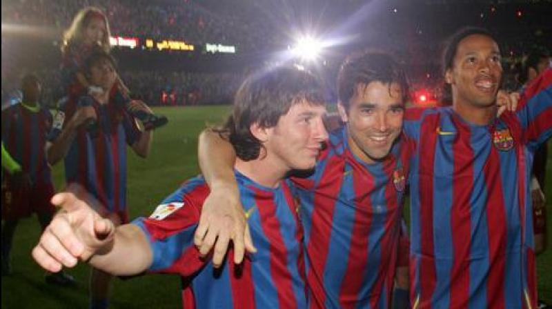 Deco was born in Brazil but moved to Portugal early in his career, obtained citizenship and made 75 appearances for his adopted country, playing at two World Cups. (Photo: Twitter)