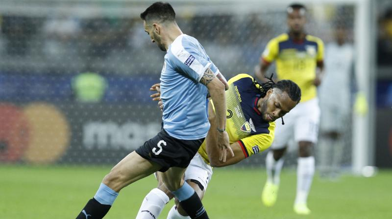 Matias Vecino started every game at last year's World Cup in Russia and coach Oscar Tabarez deems him as one of his team's key players.