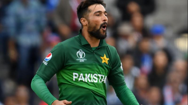 Amir, whose personal performance was a decent 3/47 in 10 overs on Sunday, also requested fans to be restrained in their criticism. (Photo:AFP)