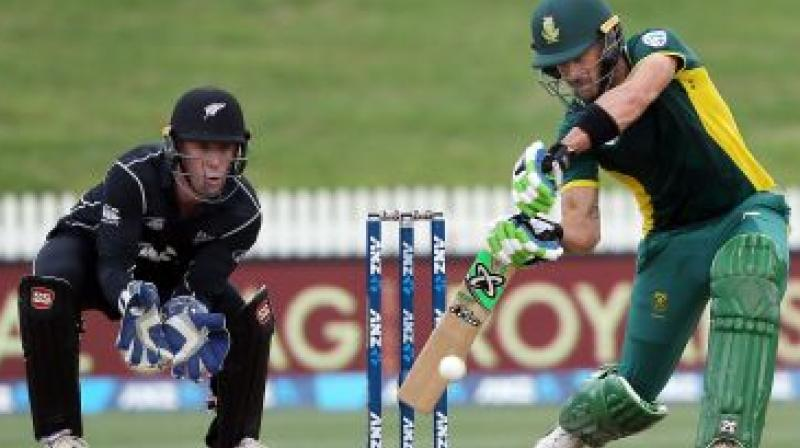New Zealand are yet to face defeat in the tournament and are lying second on the table with three wins and a washout. (Photo: AFP)