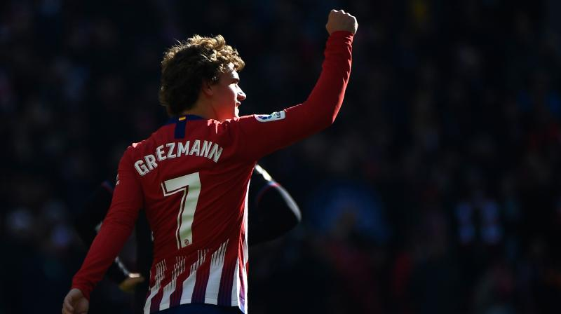 Griezmann is on a five-game scoring streak and he has scored Atletico's last six goals. (Photo: AFP)