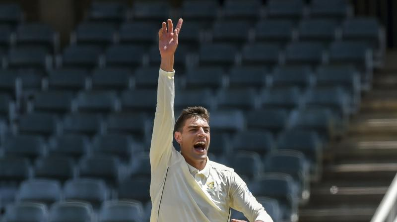 Olivier was Pakistan's chief destroyer yet only played because Lungi Ngidi was ruled out of the series with an injury. (Photo: AP)