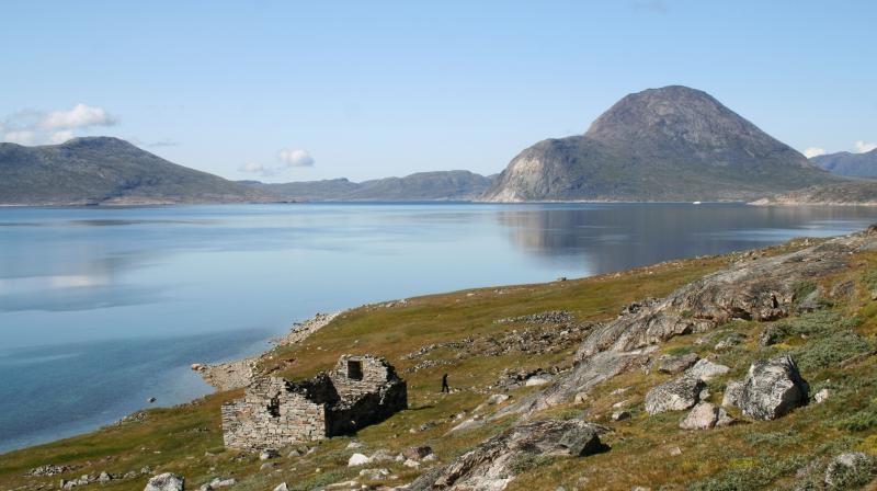 This 2009 photo provided by Christian Koch Madsen shows the ruins of the Hvalsey Church, part of an abandoned Viking colony, in southern Greenland. (Photo: AP)