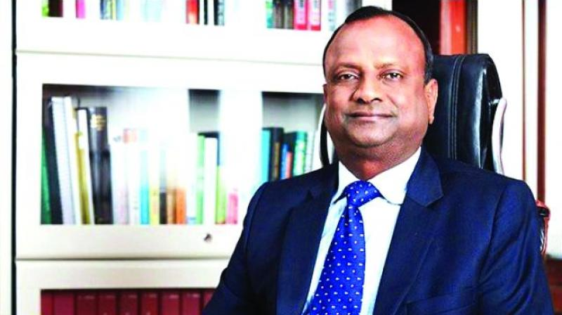 We had GST (goods and services tax). We had IBC (insolvency and bankruptcy code). All these reforms have been implemented in last three years. And as a result, we are in a transition period. A lot of cleanup has happened in the corporate sector, said SBI Chairman Rajnish Kumar. (Photo: File)