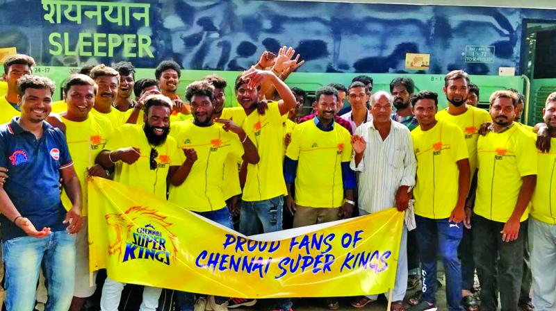 No home games, no problem for CSK's travelling fans