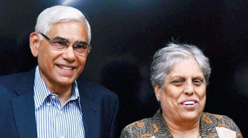 Following the resignations of Guha and Limaye, the CoA presently has only two members -- Rai and Edulji. (Photo: PTI)