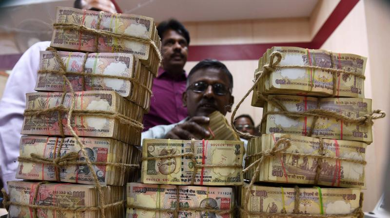 The government on Friday said it has collated information about 5,800 shell companies whose near zero- balance accounts saw nearly Rs 4,574 crore of deposits post note ban. (Photo: PTI/Representational)
