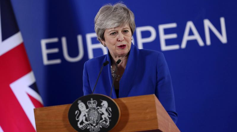 "May met with Corbyn ""to make clear our determination to bring the talks to a conclusion. (Photo:AP)"