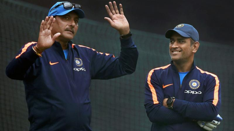 The coach is hopeful that Rishabh Pant would live up to the hype surrounding him but insisted that Dhoni is something else. (Photo: PTI)
