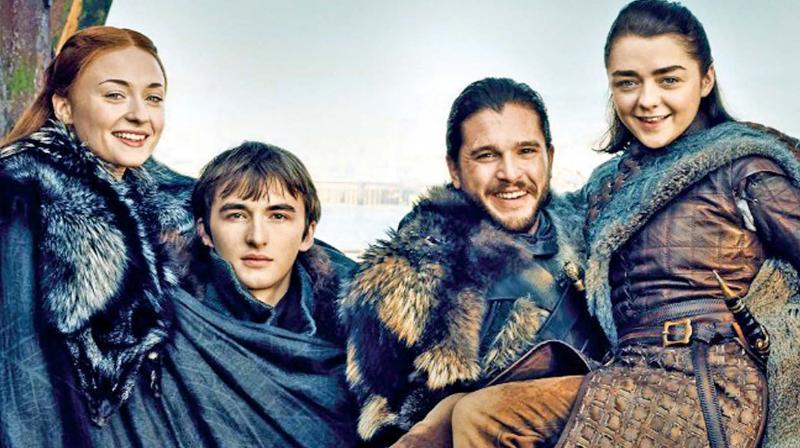 The Stark children (Source: EW)