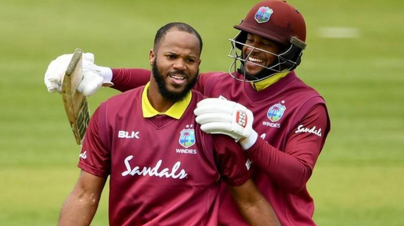 Campbell was not named in the West Indies squad for the upcoming World Cup, but the player said he was glad to grab the opportunity he got. (Photo: TWitter)