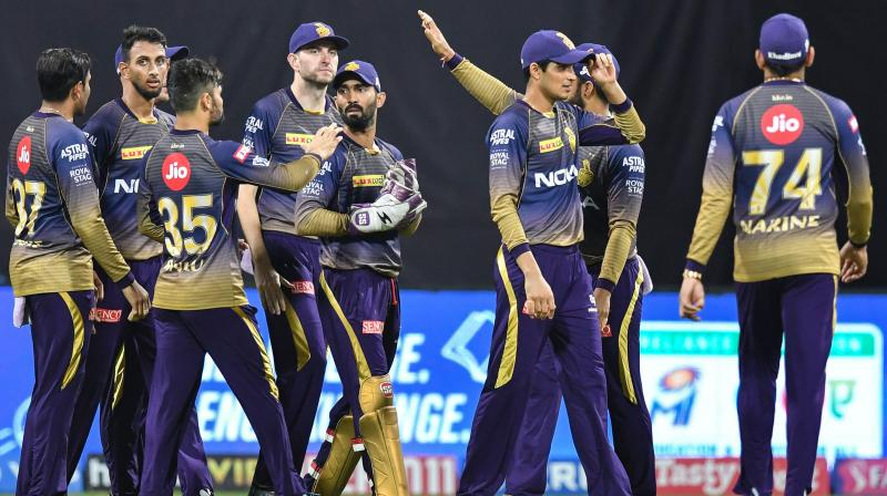 Two-time champions KKR needed to win against Mumbai Indians on Sunday to qualify for the play-offs, but they slumped to a nine-wicket thrashing to crash out of the T20 tournament. (Photo: AFP)