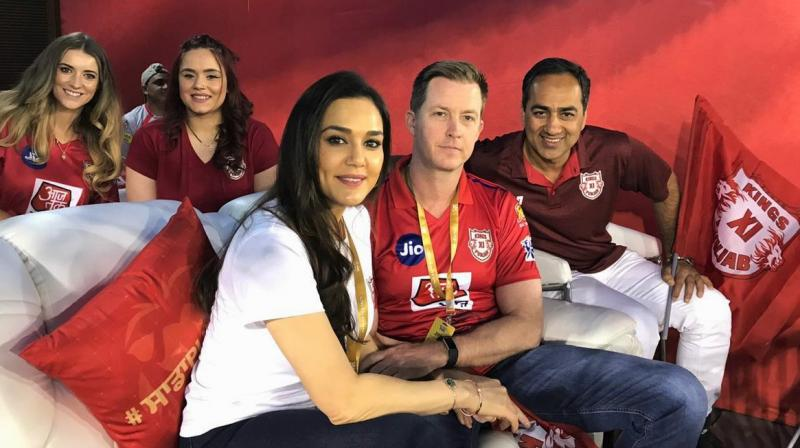 Fate was already written for the Royal Challenger Bangalore, who were knocked out of the tournament, soon after RCB's exit from the IPL, the KXIP team too followed RCB's path of elimination. (Photo: Preity Zinta/Twitter)