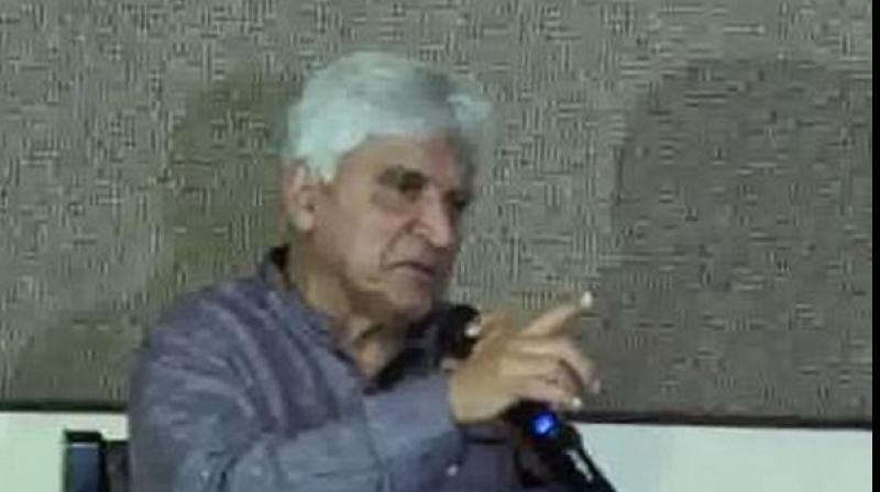 Lyricist and screenwriter Javed Akhtar on Thursday took a swipe at BJP Bhopal candidate Pragya Singh Thakur over her comments on Babri Masjid demolition. (Photo: File)