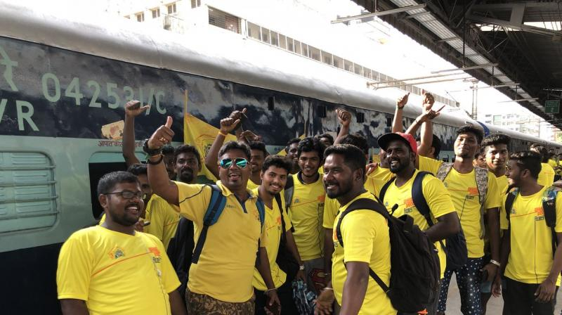 CSK organises special train to Pune for deprived fans