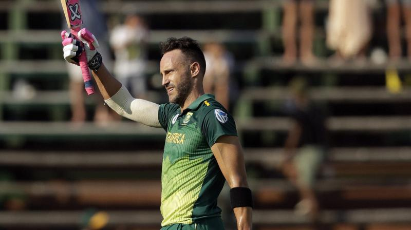 Du Plessis highlighted that the team needs to overcome its fear of failure to succeed in the World Cup. (Photo: AP/PTI)