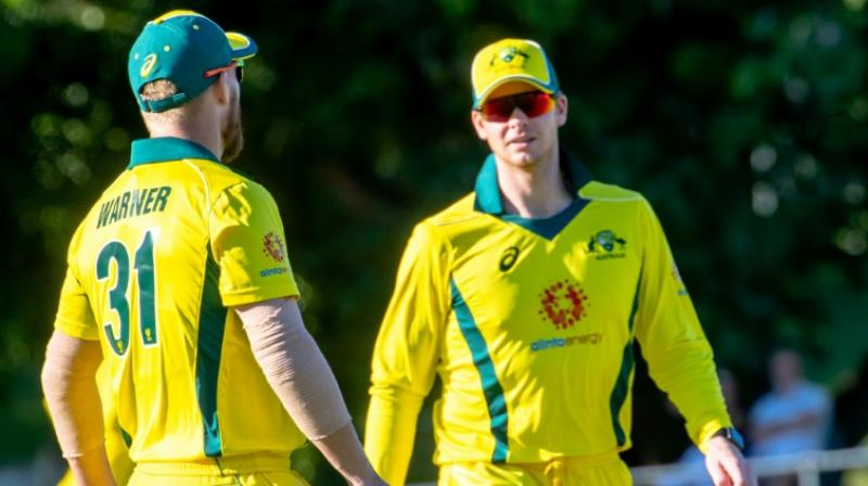 Langer admitted that controlling the crowd is not their hands but urged the fans to treat Warner and Smith as human beings, prone to committing mistakes. (Photo: AFP)
