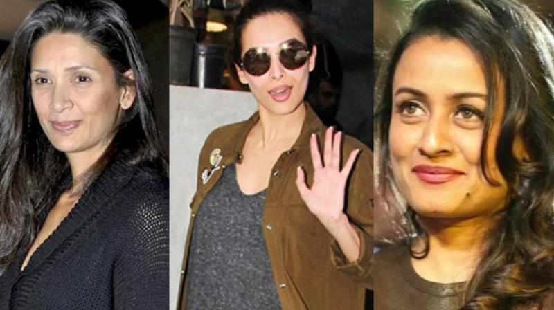 Malaika Arora recently revealed that Mehr Jesia (wife of Arjun Rampal) and Namrata Shirodkar (wife of Mahesh Babu) used to bully her during her initial days in the industry