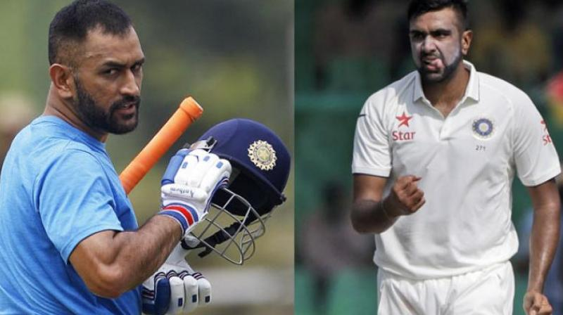 Ashwin's drifter could well be subtle retaliation to Dhoni not making public comments congratulating the Test team for its recent successes.