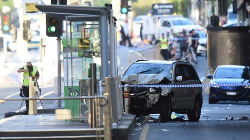 Acting commissioner Shane Patton said that the police do not believe what happened is terror related but will continue to investigate. (Photo: AFP)
